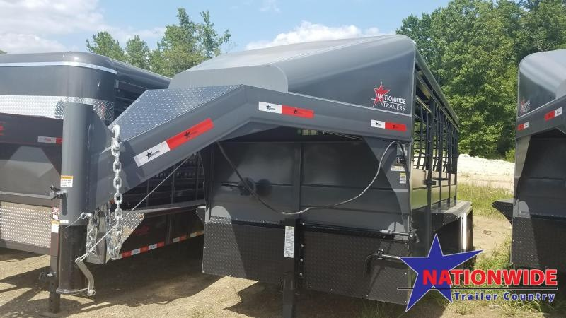 ***PRICE REDUCTION*** 2019 Nationwide Trailer 16' Livestock Trailer