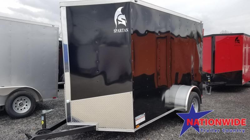 2020 Spartan Cargo 6X10 SA Enclosed Cargo Trailer