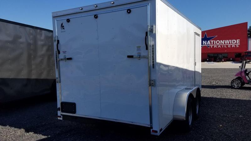 2020 Spartan Cargo 7X14 TA Enclosed Cargo Trailer