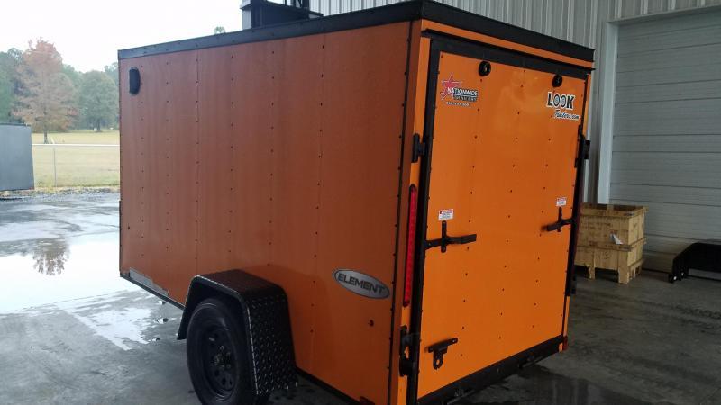 2019 Look Trailers 5X10 SA Enclosed Cargo Trailer