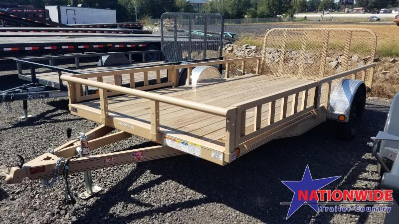 ***PRICE REDUCTION***2020 PJ Trailers 83X14 Utility Trailer
