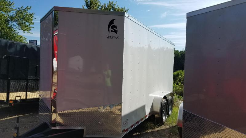 2020 Spartan 7X16 TA XXL Enclosed Cargo Trailer
