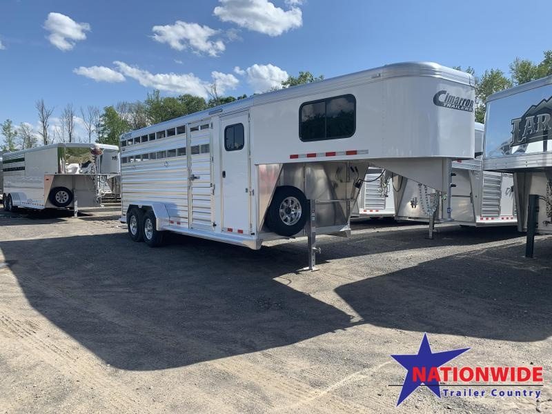 ***PRICE REDUCTION***2020 Cimarron Trailers LONESTAR 20FT Livestock Trailer