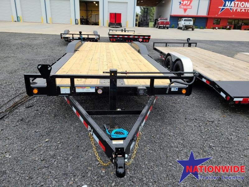 2020 PJ Trailers 102X24 TA Car / Racing Trailer