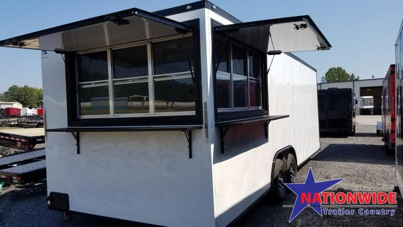 2020 Spartan 8.5X24 TA Vending / Concession Trailer