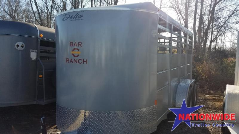 ***PRICE REDUCTION***2018 Delta Manufacturing 500 ES Horse Trailer