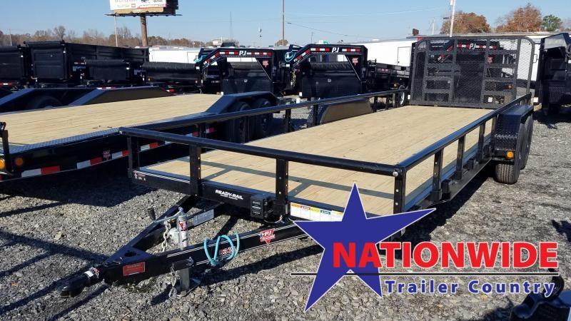 2020 PJ Trailers 83X22 TA Utility Trailer