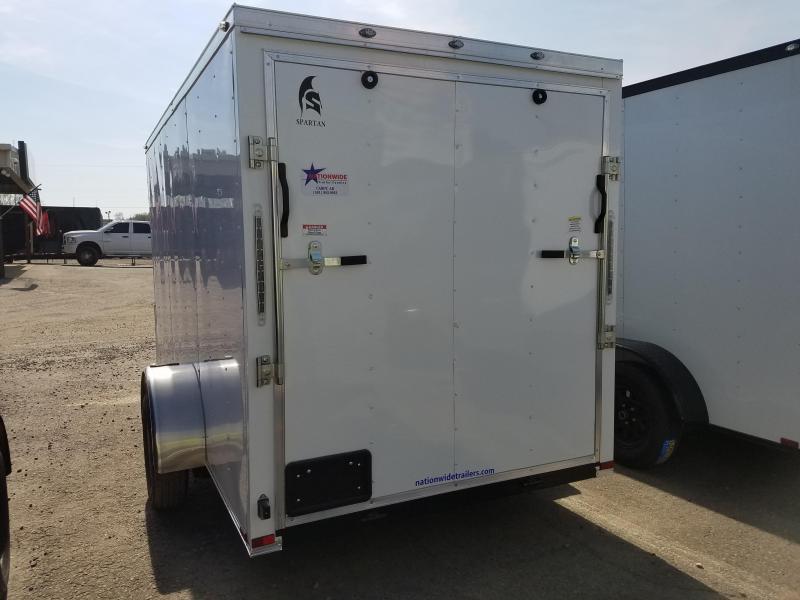 ***PRICE REDUCTION***2019 Spartan 6X12SA Enclosed Cargo Trailer