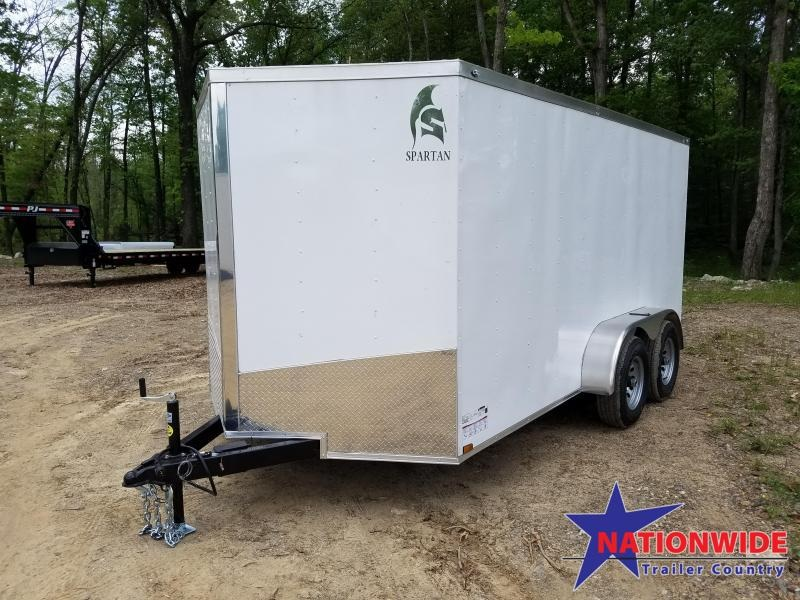 ***PRICE REDUCTION***2019 Spartan 7X14 TA Enclosed Cargo Trailer