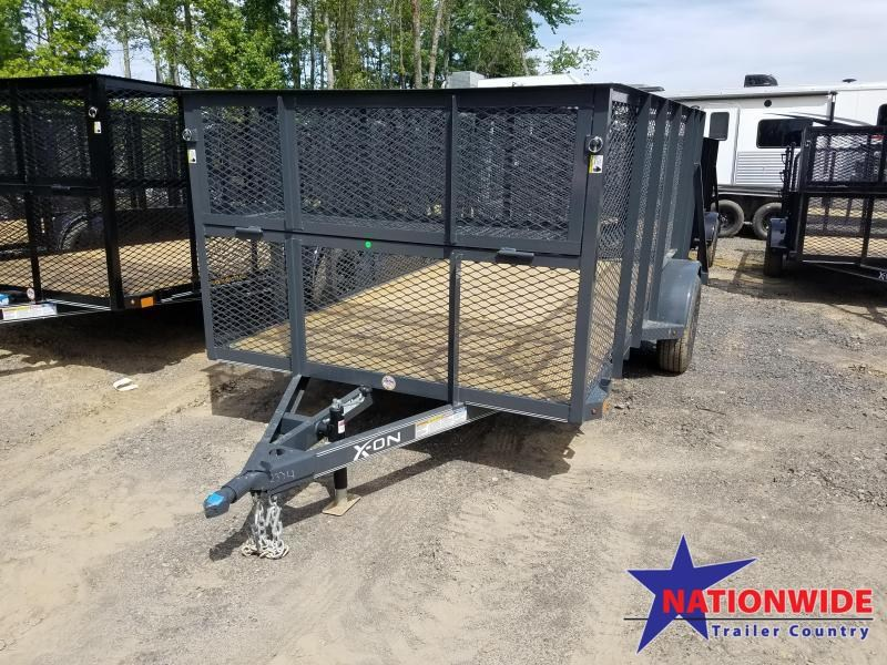 2019 X-On 77X12 SA LANDSCAPE Utility Trailer