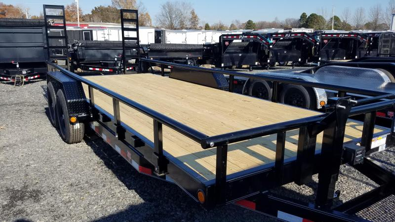 2020 PJ Trailers 83X20 TA Equipment Trailer