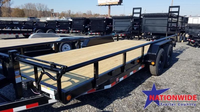 2020 PJ Trailers 83X20 TA Equipment Trailer