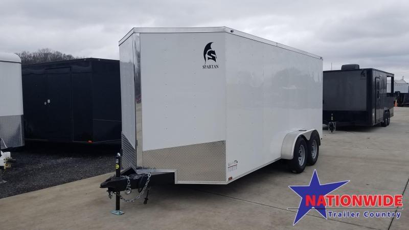 2020 Spartan Cargo 7X16 TA Enclosed Cargo Trailer