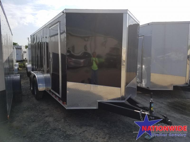 2019 Spartan 7X16 TA Enclosed Cargo Trailer