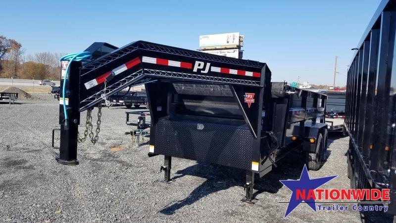 2020 PJ Trailers 83X16 HD LOW-PRO Dump Trailer