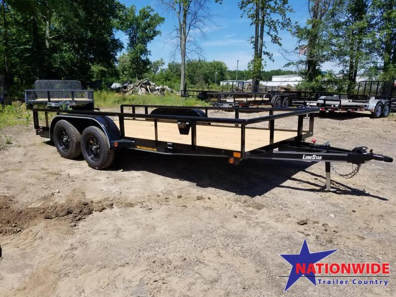 2019 East Texas 83X16 TA Utility Trailer