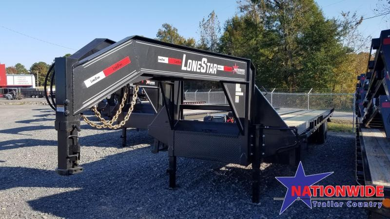 2020 Lonestar 102X40 TA Flatbed Trailer