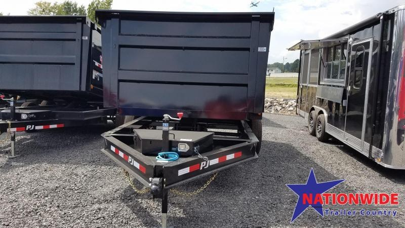 2020 PJ Trailers 83X14 LOW PRO HIGH SIDES Dump Trailer