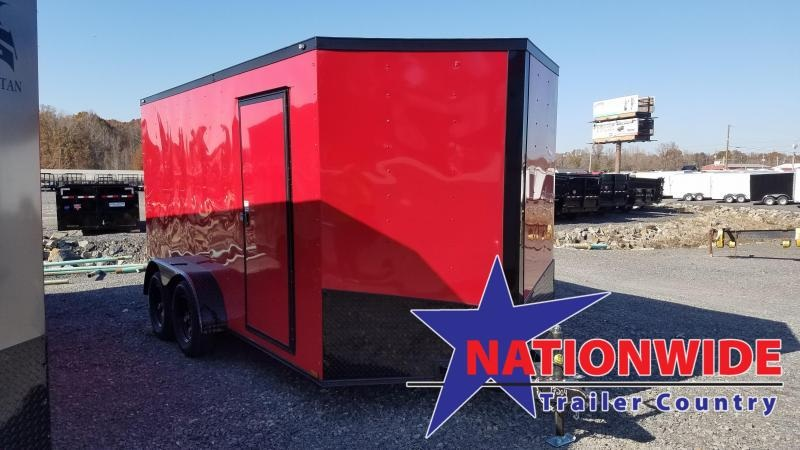 2020 Spartan Cargo 7X14 TA Enclosed Cargo Trailer