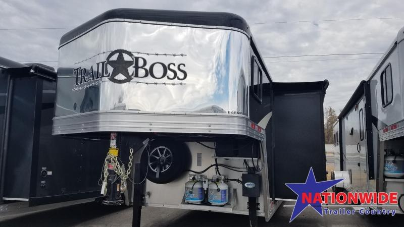 2020 Bison LIVING QUARTERS  8213 TRAIL BOSS Horse Trailer