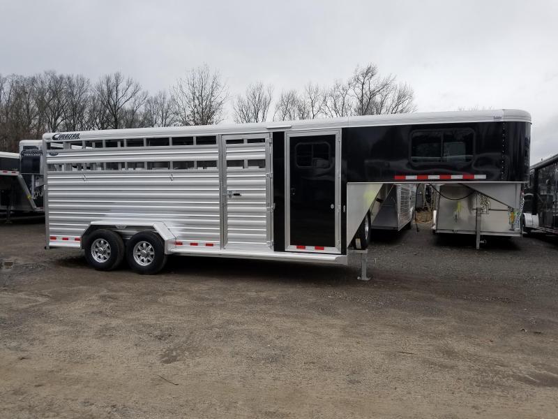 ***PRICE REDUCTION***2019 Cimarron Trailers LONESTAR 20 FT Livestock Trailer