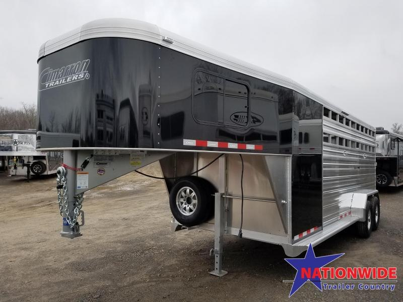 ***PRICE REDUCTION***2019 Cimarron Trailers LONESTAR 20 FT Livestock Trailer