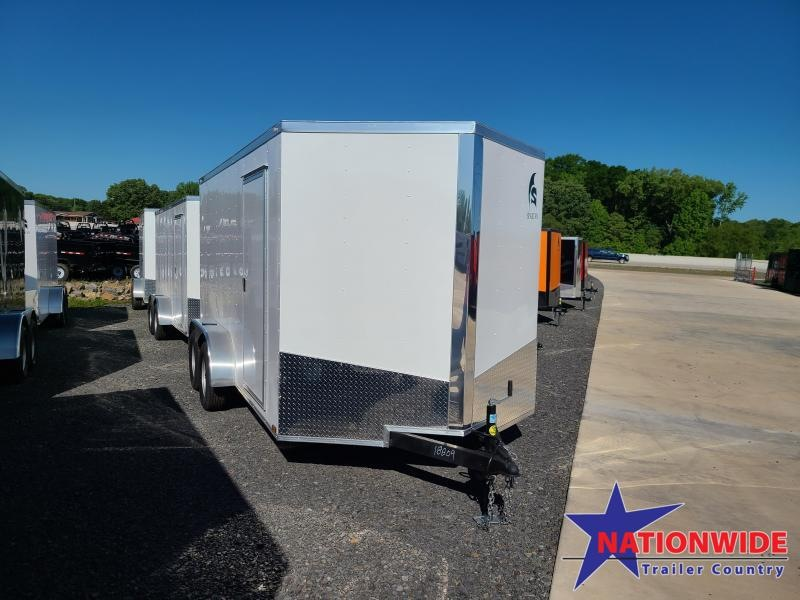 2020 Spartan Cargo 7X14 Enclosed Cargo Trailer