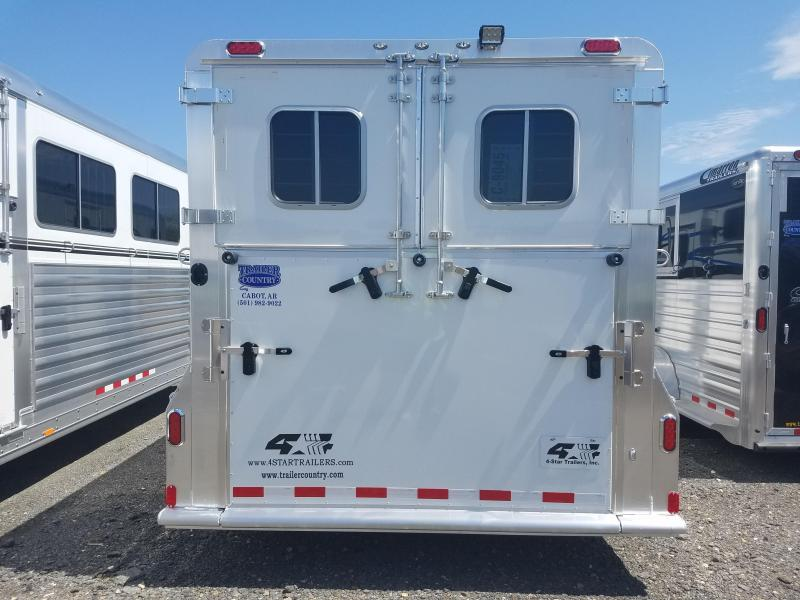 ***PRICE REDUCTION***2018 4-Star Trailers 4 STAR 2+1 Horse Trailer