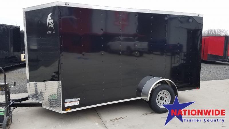 2020 Spartan Cargo 6X12 SA Enclosed Cargo Trailer