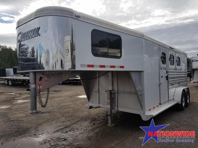 ***PRICE REDUCTION***2018 Cimarron Trailers NORSTAR 3 HORSE Trailer