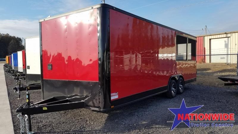 2020 Spartan Cargo 8.5X24 Vending / Concession Trailer