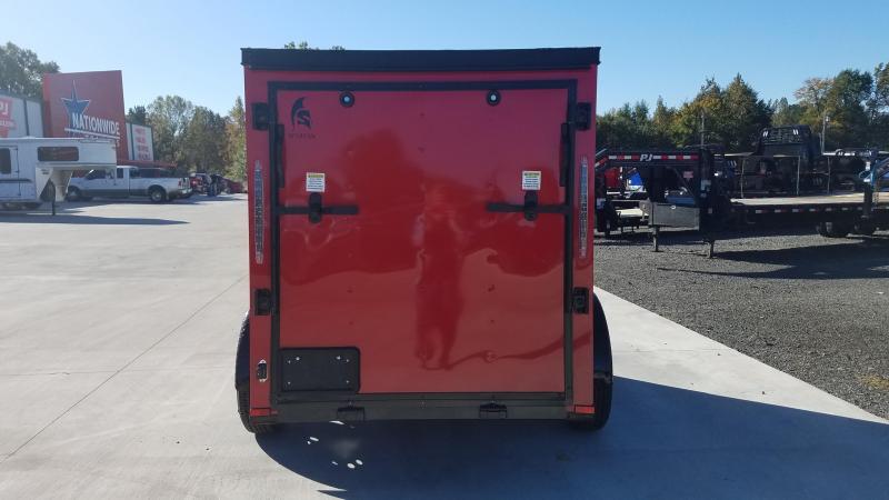 2020 Spartan Cargo 5X8 SA Enclosed Cargo Trailer