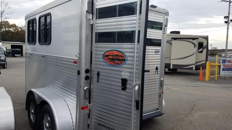 2020 Sundowner Trailers 2 Horse Trailer