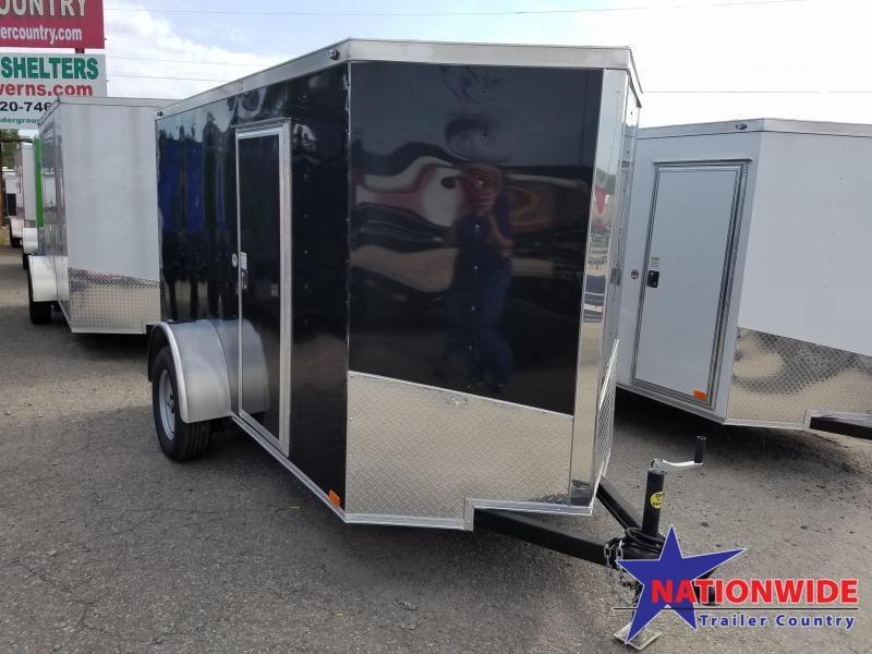 ***CLEARANCE***2018 Spartan 5X10SA Enclosed Cargo Trailer