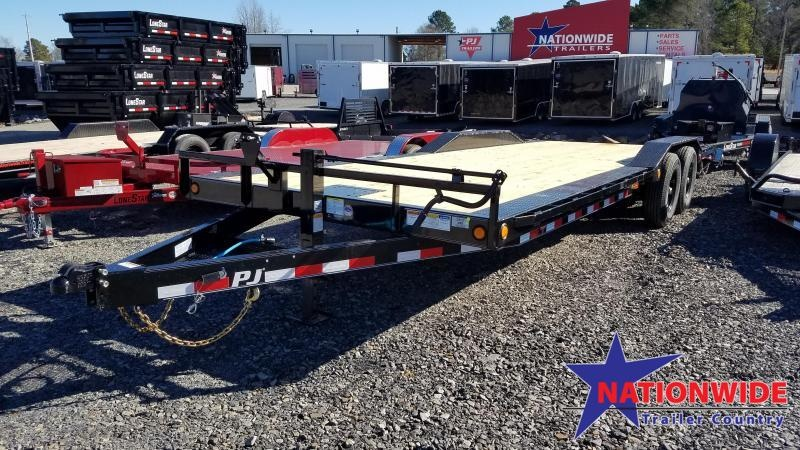 2020 PJ Trailers 102X24 SUPER-WIDE Car / Racing Trailer