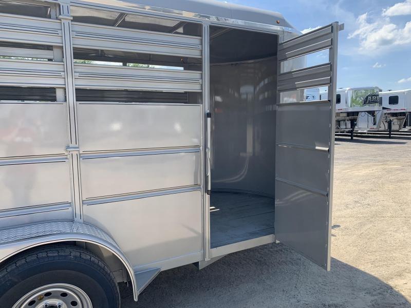 2019 Delta Manufacturing 16FT 500ES STOCK Livestock Trailer