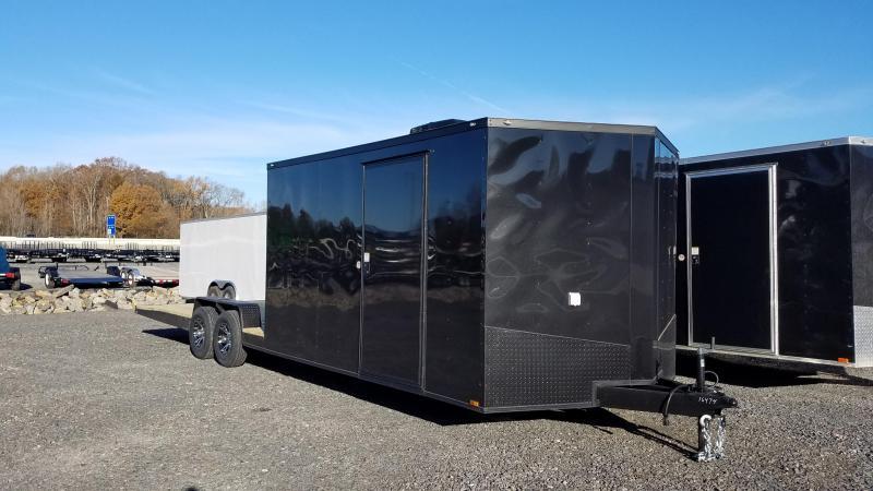 2020 Spartan Cargo 8.5X28 TA HYBRID TOY HAULER Enclosed Cargo Trailer