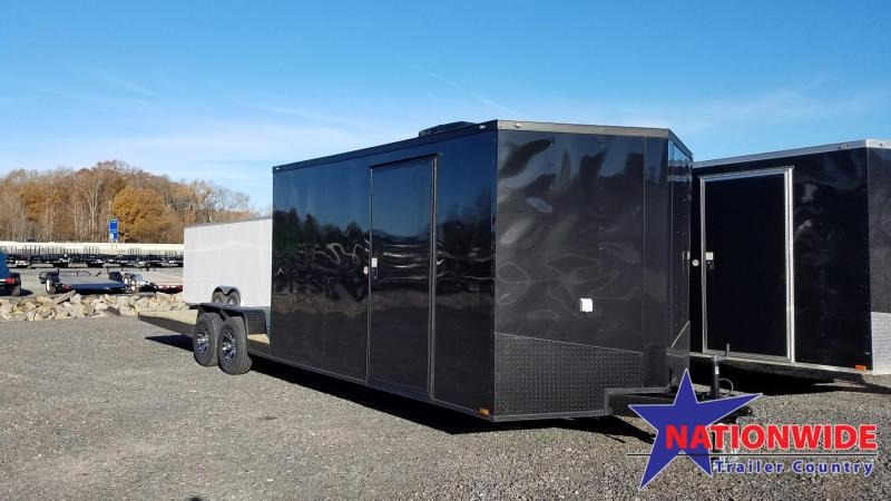 2020 Spartan Cargo 8.5X28 TA HYBRID TOY HAULER Enclosed Cargo Trailer