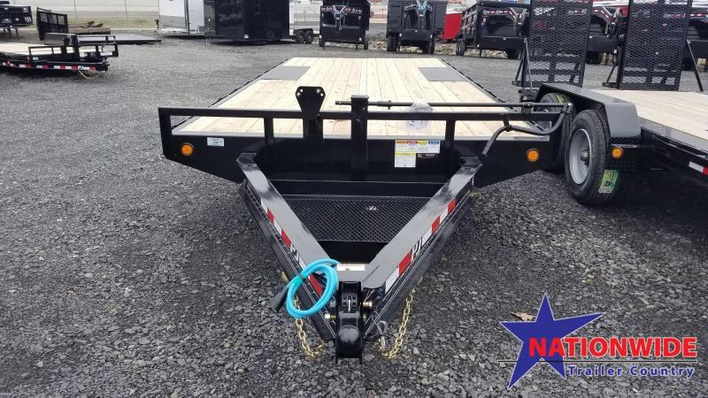 2020 PJ Trailers 102X20 I-BEAM DECKOVER Equipment Trailer