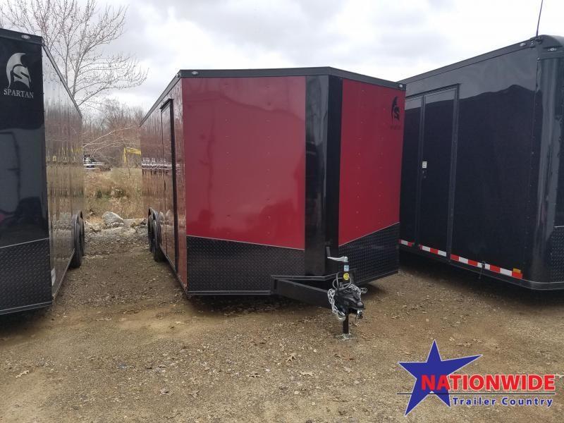 2019 Spartan 8.5X20 Enclosed Cargo Trailer