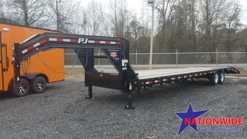 2020 PJ Trailers 102X34 GN Flatbed Trailer
