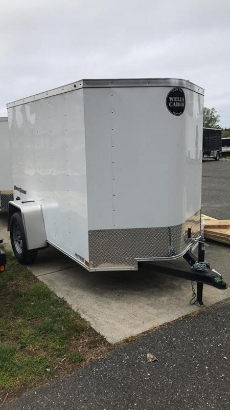 2019 Wells Cargo FT581 Enclosed Cargo Trailer