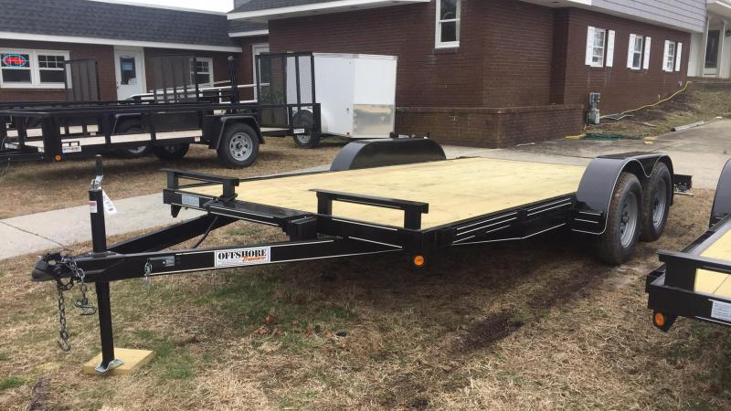 2020 P and T Trailers 82x16wch Car / Racing Trailer