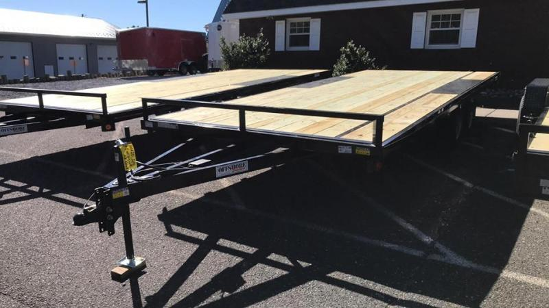 2020 Quality Steel and Aluminum 101x20 deck over Car / Racing Trailer