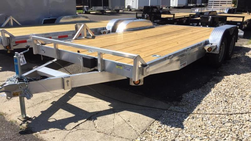 2020 Quality Steel and Aluminum 20 aluminum 7k gvwr Car / Racing Trailer