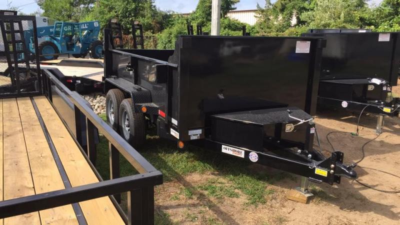 2020 Quality Steel and Aluminum 6X10 LOW PROFILE Dump Trailer