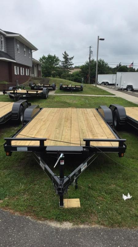 2020 P and T Trailers 82x18 wch Car / Racing Trailer