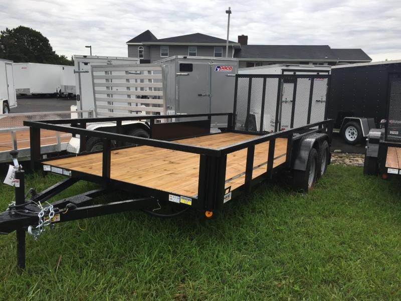 2019 Quality Steel and Aluminum 7X14 TA Utility Trailer