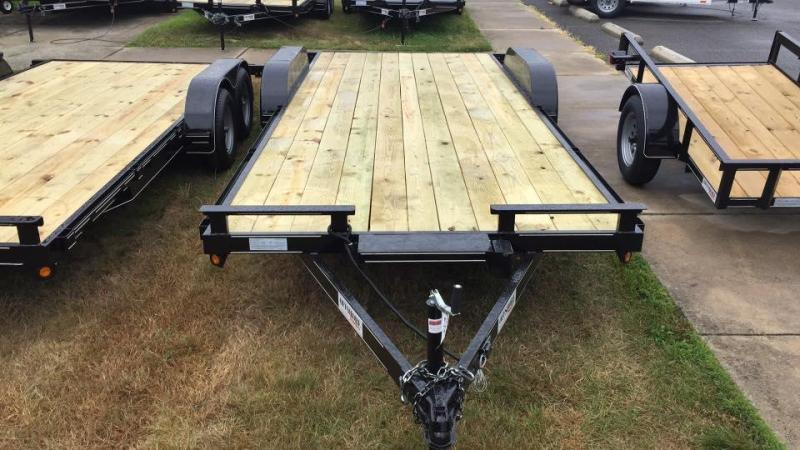 2020 P and T Trailers 82x20wch Car / Racing Trailer