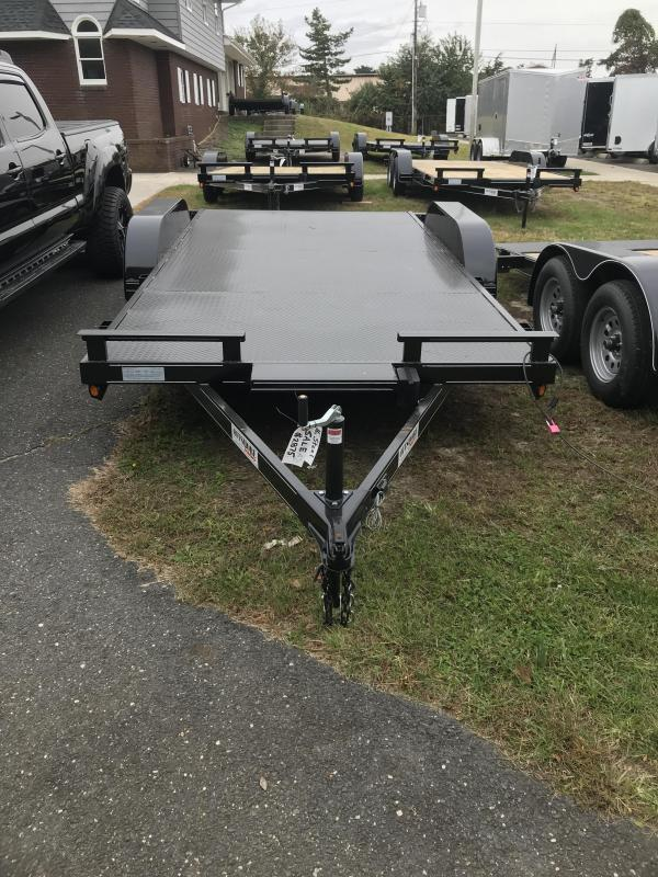 2020 P and T Trailers 82x16 ssch Car / Racing Trailer